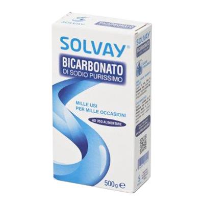 SOLVAY BICARBONATO GR.500
