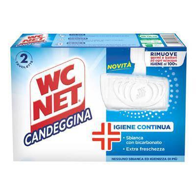 WC NET TAVOLETTA CON CANDEGGINA 2 PZ