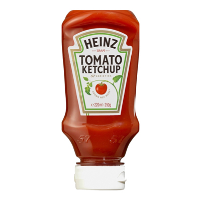 HEINZ  KETCHUP TOP DOWN GR.250DOLCE
