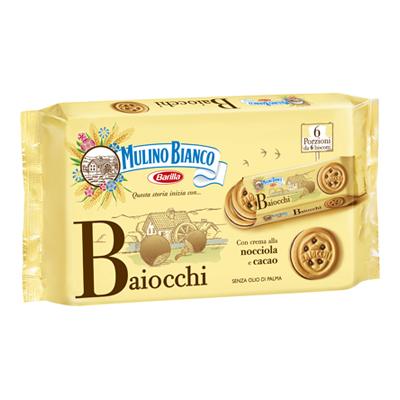 MULINO BIANCO MINI BAIOCCHI SNACK X 6 GR.330 NOCC IOLA