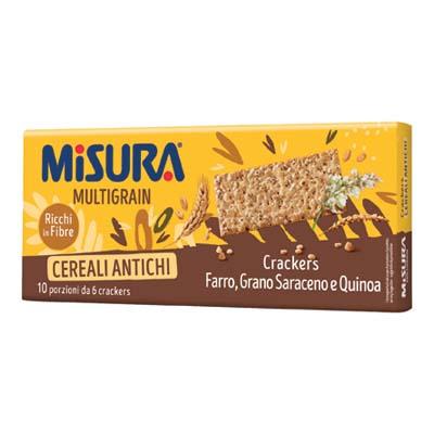 MISURA CRACKERS GR.350 MULTIGRAIN FIBRA EXTRA
