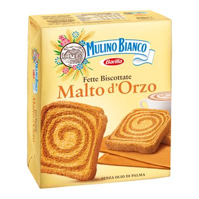 MULINO BIANCO FETTE BISCOTTATEX 40 MALTO