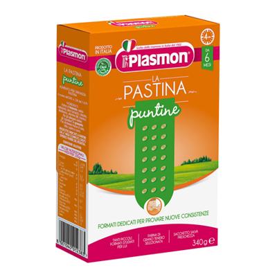 PLASMON PASTINA N.6 PUNTINEGR.340