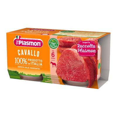 PLASMON OMOGENEIZZATO CARNE GR.80X2 CAVALLO