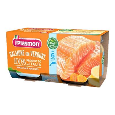PLASMON OMO GR.80X2 SALMO/VERD