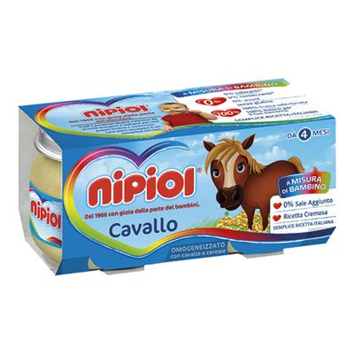 NIPIOL OMOGENEIZZATO CARNE GR.80X2 CAVALLO
