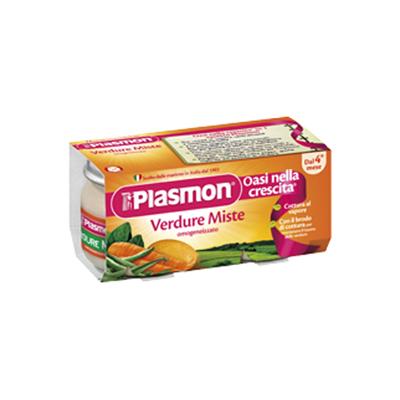 PLASMON OMOGENEIZZATO GR.80X2VERDURE   MISTE