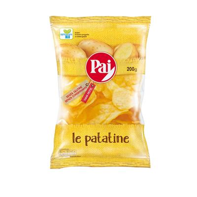 PAI PATATINE CHIPS TRASPARENTIGR.200