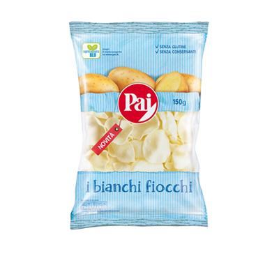 PAI PATATINE BIANCHI FIOCCHI TRASPARENTI GR.150