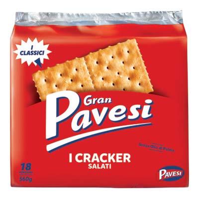 GRAN PAVESI CRACKERS GR.560 SALATI