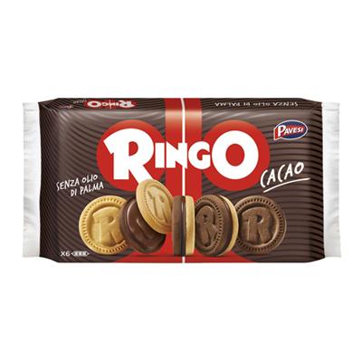 RINGO BISCOTTI CACAO FAMIGLIAGR.330
