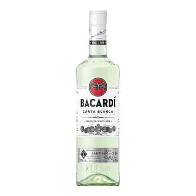 BACARDI CARTA BLANCA 37.5� CL.100