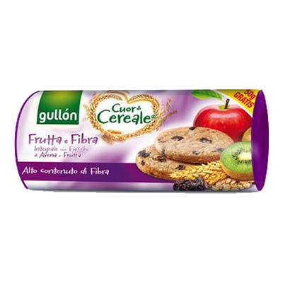 GULLON CUOR DI CEREALE GR300 FRUTTA E FIBRA