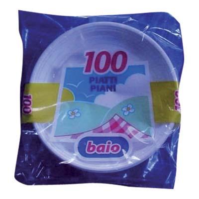 BAIO PIATTI BIANCHI 203 PIANIX100