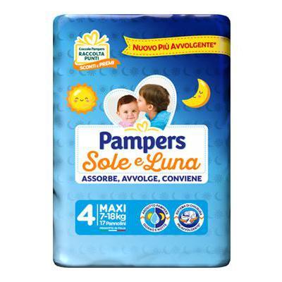 PAMPERS SOLE E LUNA MAXI X 18