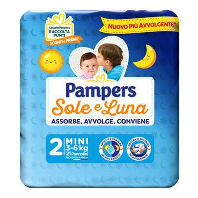 PAMPERS SOLE E LUNA MINI X 21