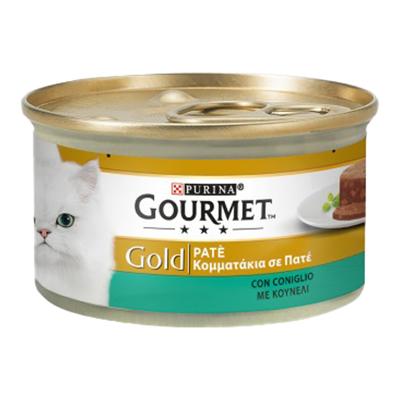 GOURMET GOLD PATE'CONIGLIO GR.85