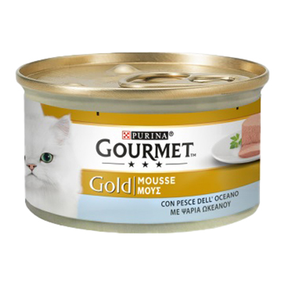 GOURMET GOLD MOUSSE PESCE GR.85