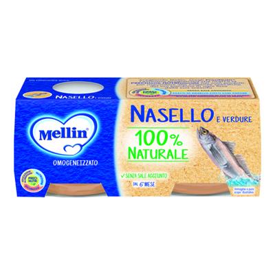 MELLIN OMO GR.80X2 PESCE NASELLO