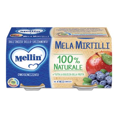 MELLIN OMO GR.100X2 MELA/MIRTILLO