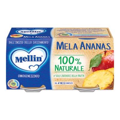 MELLIN OMO GR.100X2 MELA/ANANAS