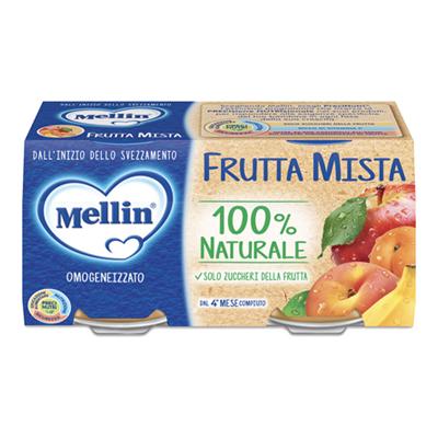MELLIN OMO GR.100X2 FRUTTA MISTA