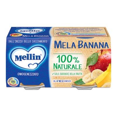 MELLIN OMO GR.100X2 MELA/BANANA