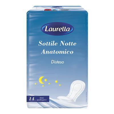 LAURELLA SUPER NOTTE ANATOMICO14 PZ.