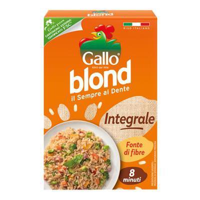 GALLO RISO BLOND INTEGRALE GR.500