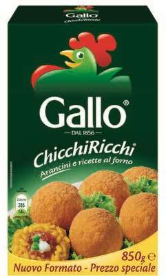 GALLO ARANCINI GR.850