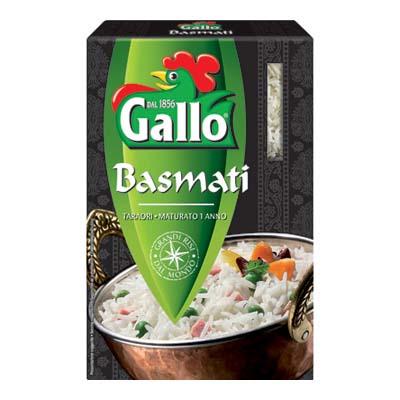 GALLO RISO BASMATI GR.500