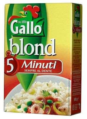 GALLO RISO 5 MINUTI GR.500