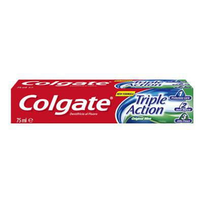 COLGATE DENTIFRICIO TRIPLE ACTION ML.75