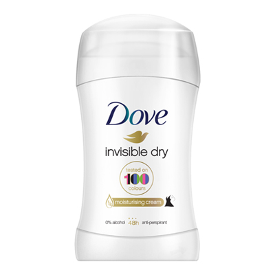 DOVE DEO STICK ML.30 INVISIBLEDRY