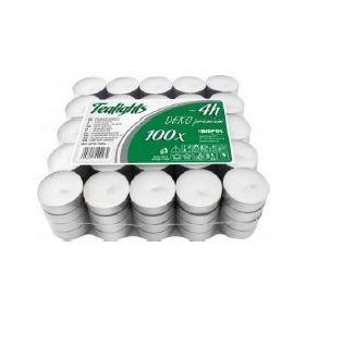 CAU TEALIGHT CM.13,5 X 100PZ