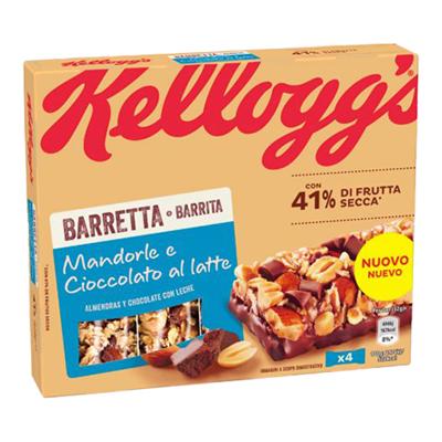 KELLOGG'S BARRETTA CIOCCOLATOAL LATTE GR.32X4
