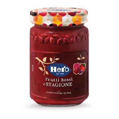HERO CONFETTURA FRUTTI DI STAGIONE FRAGOLE GR.350