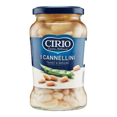 CIRIO FAGIOLI CANNELLINI VASOVETRO GR.370