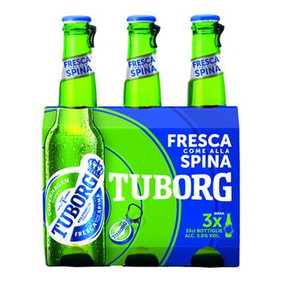 BIRRA TUBORG 5° 33X3