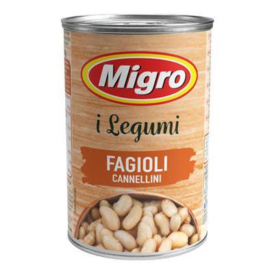 MIGRO FAGIOLI CANNELLINI GR.400