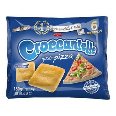 EUROSNACK CROCCANTELLE PIZZA MULTIPACK GR.210