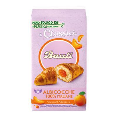 BAULI CROISSANT X6 ALBICOCCA