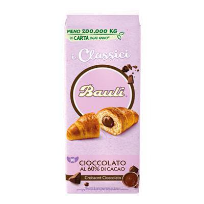 BAULI CROISSANT CACAO X 10