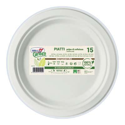 PIATTO GREEN PIZZA DIAMETRO 320 X15