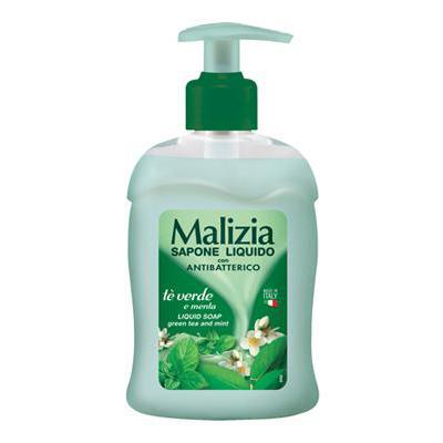 MALIZIA SOAP ANTIBATTERICO ML.300 EROGATORE       MENTA & TE