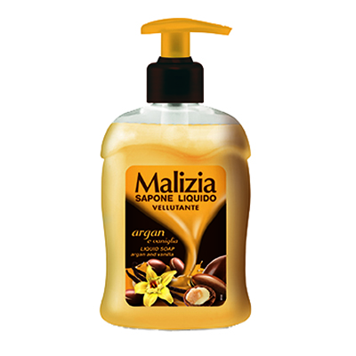MALIZIA SOAP ARGAN/VANIGLIA ML.300 EROGATORE