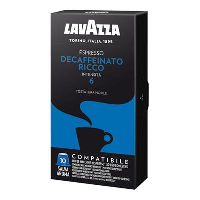 LAVAZZA ESPRESSO DECAFFEINATORICCO CAPS X10