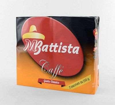 BATTISTA CAFFE' CLASSICO GR.250X2
