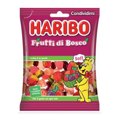 HARIBO FRUTTI DI BOSCO BUSTA GR.175  COD.35132
