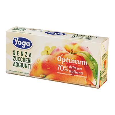 YOGA OPTIMUM PESCA SENZA ZUCCHERI ML.200X3